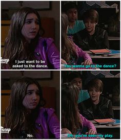 """""""Girl Meets Semi-Formal"""" Riley how can you say no to Farkle? Riley Matthews, Boy Meets World Quotes, Girl Meets World Farkle, Riley And Farkle, Old Disney Channel, Movie Couples, Tv Show Quotes, Cartoon Network Adventure Time, Disney Drawings"""