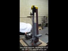 """Available at Sierra Victor Industries: 2"""" x 72"""" KALAMAZOO® Belt Sander. MODEL 2FS72. For more information or to order, CALL 386-304-3720, VISIT http://sierravictor.com/index.php?dispatch=products.view&product_id=921"""