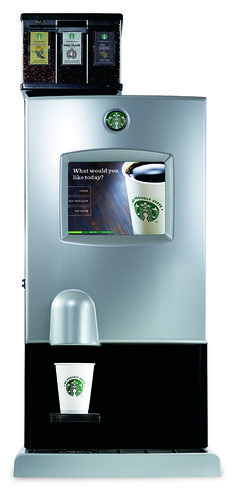 American Vending & Coffee Service is your#1 Independent Coffee Service in the United States! Starbucks Digital iCup Bean-Grinded Coffee Machine (Countertop or Freestanding) The Starbucks Interactive Cup Digital Brewer allow you to offer up to three different kinds of coffee...