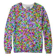 Rainbow Static Sweatshirt