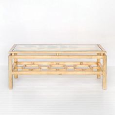 Worlds Away Pierre Gold Leafed Coffee Table – Matthew Izzo Home