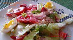 W kuchennym oknie Ewy: Sałatka dietetyczna z szynką
