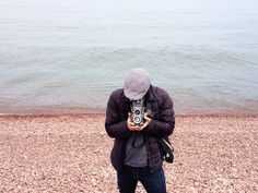 Pink pebble beach, Lake Superior // Field Office
