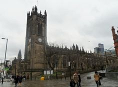 Manchester Cathedral dates mostly from 1422 to 1506 and was raised to cathedral status in 1847. The chapels on both sides of the nave and choir were built between 1486 and 1508, with further additions and alterations in almost every subsequent century. Particularly notable are the choir-stalls, with some of the most richly decorated misericords in the country. St John's Chapel is the chapel of the Manchester Regiment, and the little Lady Chapel has a wooden screen dating from 1440.