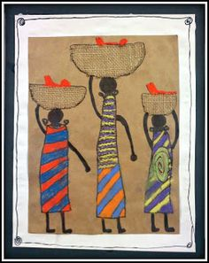 PLATEAU ART STUDIO: African Line Art