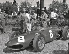 Ricardo Rodriguez (Ferrari) Grand Prix d'Italie 1961
