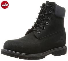 Timberland Damen 6 6in Premium Boot-W Kurzschaft Stiefel, Schwarz (Black Waterbuck), 39.5 EU - Timberland schuhe (*Partner-Link)