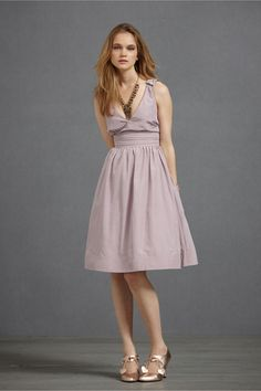 cute bridesmaids dresses (tho this model is WAYYY too thin for it)