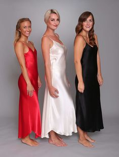 f8889e92e0b CLASSIC HART Long Gowns at LINDA HARTMAN INTIMATES  red  black  white   lingerie