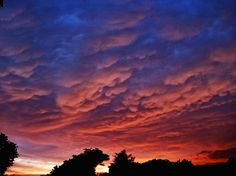 """<3 Storm clouds <3  AccuFan Weather Photo of the Day: Stormy Ohio Sunset by """"A.K.Entingh"""" taken on 6/18/2014"""
