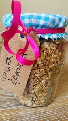 Recipe for ginger granola