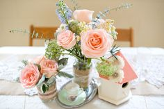 so many cute ideas for a shabby chic/ vintage / garden / victorian party