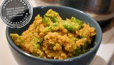 Quinoa dans un seul chaudron style Mac&Cheese au brocoli - Auboutdelalangue.com Beignets, Pesto, Dessert Recipes, Desserts, Mac And Cheese, Tasty Dishes, Cooking Recipes, Fast Recipes, Guacamole