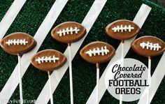 Football Oreo Pops