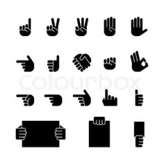 pictograms crime  | Stock vector of 'vector, hand, pictogram'