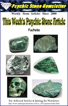 """Metaphysical Uses of Fuchsite: Called the """"stone of health""""  it can help access information on health by using your own intuition to access information from the universal mind. Meditation is the best and highest use for Fuchsite. As you go deeper into the meditative state... this is the time when you begin to access information that will aid you in your life. Fuchsite is a great stone for  those who are herbalists to gain information about how to use certain natural remedies. It encourages…"""