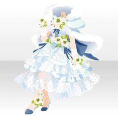 La renoncule|@games -アットゲームズ- Fashion Design Drawings, Fashion Sketches, Anime Girl Dress, Cocoppa Play, Dress Up Dolls, Drawing Clothes, Character Outfits, Anime Outfits, Lolita Dress