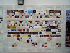 Addison School Clay Tile Mural by murphymae, via Flickr