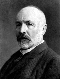 Georg Cantor (1845 - 1918) was born in St. Petersburg, Russia, but moved to Germany when he was still a little boy. He is best known as the inventor of Set Theory.