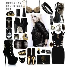 """Rock"" by pauwi on Polyvore"