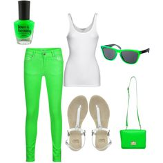 """""""green"""" by ranaayna on Polyvore"""