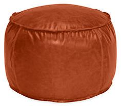 Otto Custom Round Pouf - Ottomans - Custom