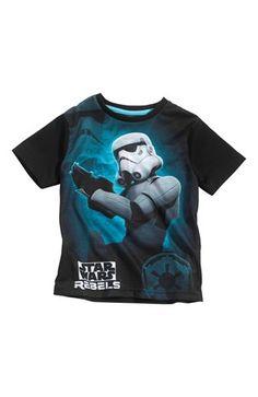 Super fede Star Wars T-shirt Sort Star Wars T-shirt til Børn & teenager i luksus kvalitet