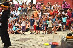 Giocoliere americano al Festival Andersen, Sestri Levante