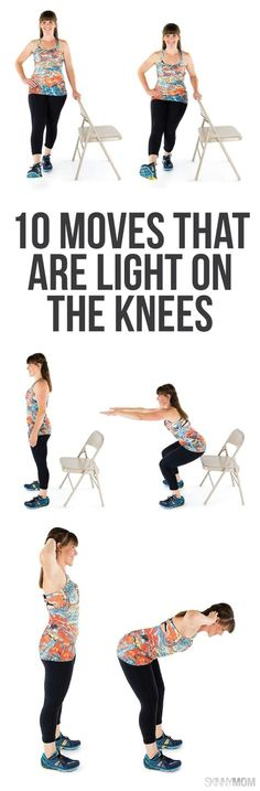 10 exercises to combat your knee pain