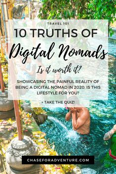 The Digital Nomad Lifestyle: 10 Painful Truths - Chase for Adventure Travel Jobs, Travel Advice, Travel Hacks, Budget Travel, Travel Guides, Make Money Traveling, How To Make Money, Work Abroad, Online Travel
