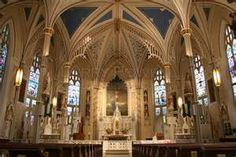 Inside St. Mary's Cathedral, Natchez MS