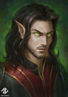 ArtStation - Sin'dorei Warlock, Deiv Calviz (David Villegas)