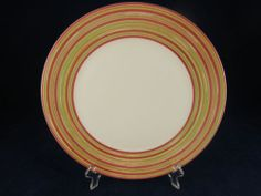 Pagnossin Treviso Pattern Salad Plate Italian VGC Ironstone White | eBay