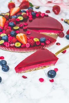 Vegan Tarts, Vegan Cake, Sugar Free, Low Carb, Sweets, Healthy Recipes, Diet, Fruit, Desserts