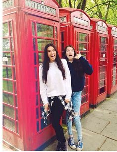 When they were in London