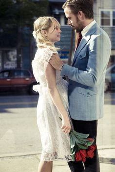 i don't know who this girl is, but just by looking at Ryan Gosling's face, i can tell i want to be her.