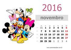 calendario 2016 mês de novembro
