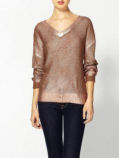 bronze sweater | Piperlime
