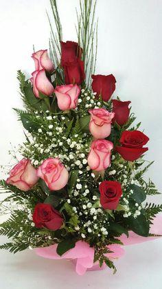 Valentine Flower Arrangements, Large Flower Arrangements, Funeral Flower Arrangements, Funeral Flowers, Flower Centerpieces, Flower Decorations, Silk Arrangements, Beautiful Rose Flowers, Beautiful Flowers Wallpapers