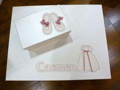 cajas comunión de Carmen