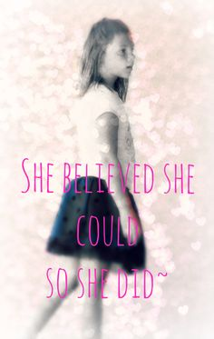 cute Little girl quote