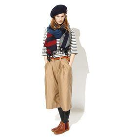3/4 Sleeve Breton Stripe Top | FRED PERRY JAPAN | フレッドペリー日本公式サイト