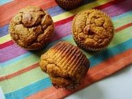 nutty paleo pumpkin muffins. (via Nutrition Nut on the Run)