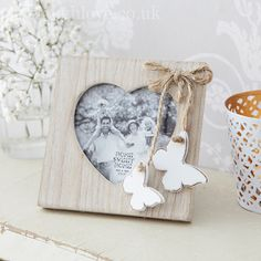 Mini Double Butterfly Photo Frame - £3.95 http://www.livelaughlove.co.uk/Mini-Double-Butterfly-Photo-Frame.html