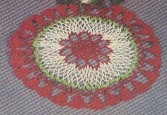 Free Crochet Christmas Bells   Doily