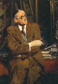 James Joyce by  Jacques-Emile Blanche