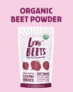 Try Love Beets' Organic Beet Powder! Loaded with benefits and made with just one simple ingredient! Now on SALE for a limited time!