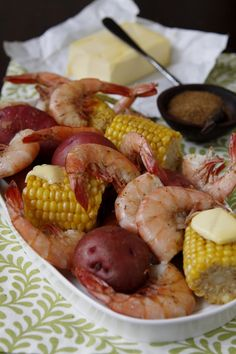New England Seafood Bake:  (Nikki:  Maybe something like this but add Steamed Alaskan King Crab Legs?  And Of Coarse...Wine!!!!)