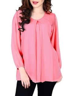 Check out what I found on the LimeRoad Shopping App! You'll love the pink georgette top. See it here http://www.limeroad.com/products/10442822?utm_source=9c31275cde&utm_medium=android