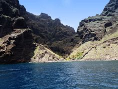 Tenerife - Out By Boat For Cliffs and Dolphins